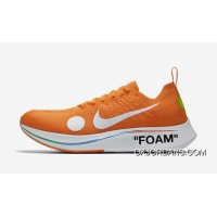 Off-White X Nike Zoom Fly Mercurial Flyknit OW AO2115-800 Orange 2018 Russia FIFA World Cup Discount