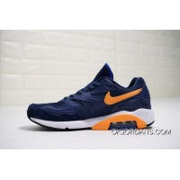 Nike Air Max 180 OG 2104042-047 2018 Russia FIFA World Cup Sweden NAVY BLUE ORANGE Discount