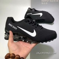 Nike AIR SHOX FLYKNIT Zoom Running Shoes BLACK WHITE SWOOSH 2018 Russia FIFA World Cup Best