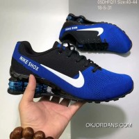 Nike AIR SHOX FLYKNIT Zoom Running Shoes 2018 Russia FIFA World Cup BLUE Top Deals