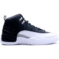 Air Jordan 12 Retro Playoff Black Varsity Red White Metallic Sil