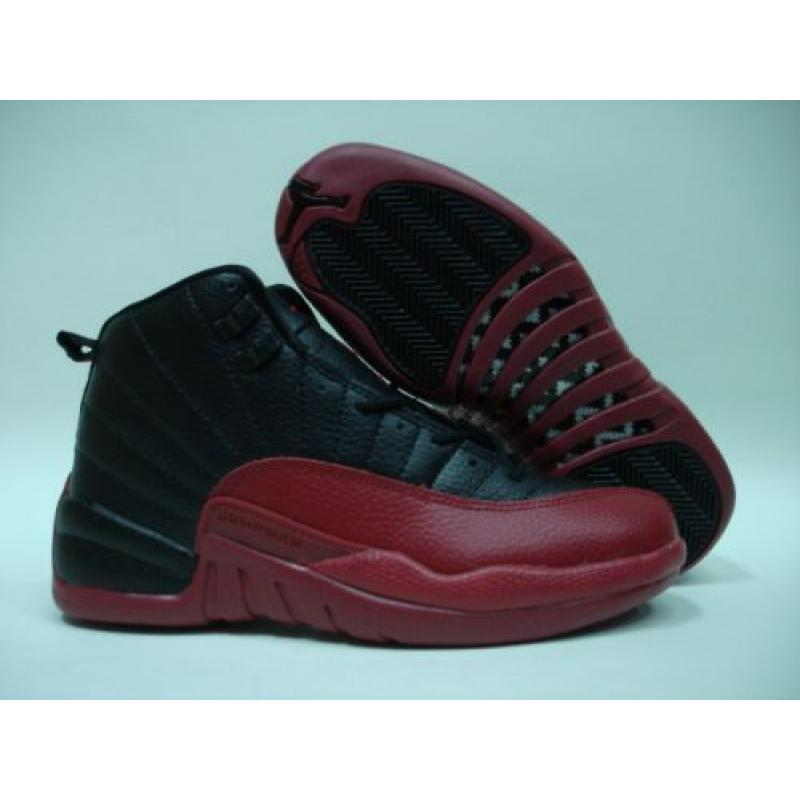 the best attitude 398d9 26630 Jordan Retro 12 Black Red