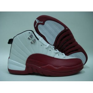 outlet store 45ac4 d83a9 Jordan Retro 12 Obsidian Red White