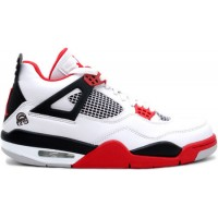 Jordan 4 Retro Mars Fire Reds White Varsity Red Black
