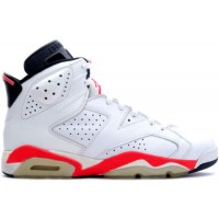 Jordan 6 Original White Infra Red Black