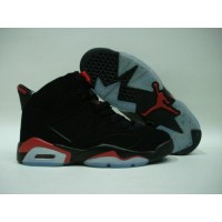 Air Jordan 6 Black Deep Infrared