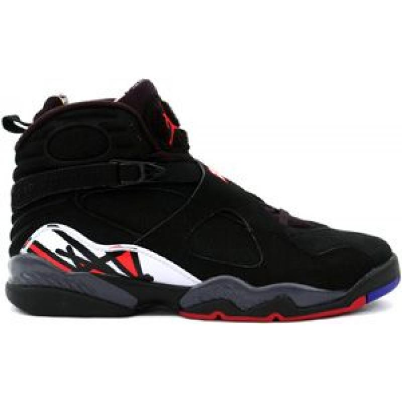 the latest 8e017 53f81 Air Jordan 8 Retro Black Varsity Red White Playoffs