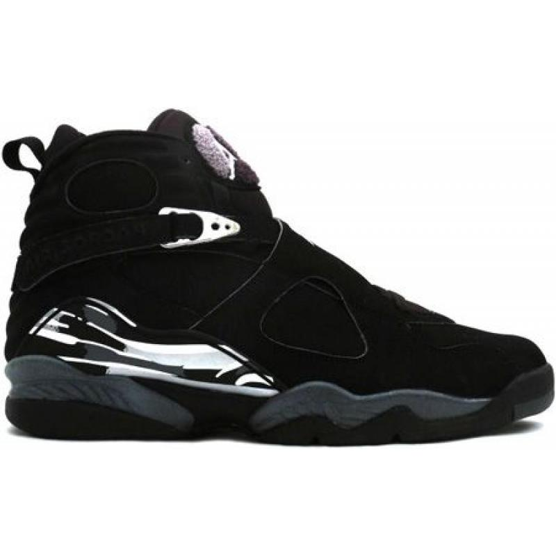 best authentic 33143 07a78 Air Jordan 8 Retro Black Chrome
