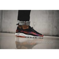 NikeLab Air Footscape Woven Rainbow Black Men Sneaker Lastest