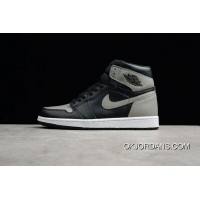 Pure Original Instruction Level New Stock Is First Air Jordan 1 Retro High OG Shadow Grey Shadow Size 555088-013 Best