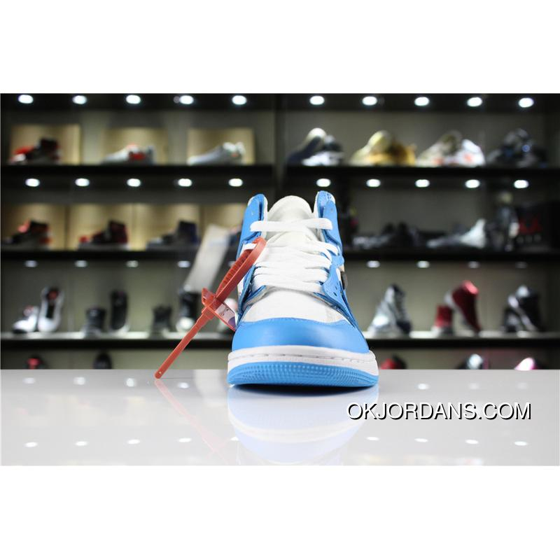 Jordan Air Aj1 1 Off-White X UNC SKU AQ0818-148 To Be Blue North ... 2195e06c9
