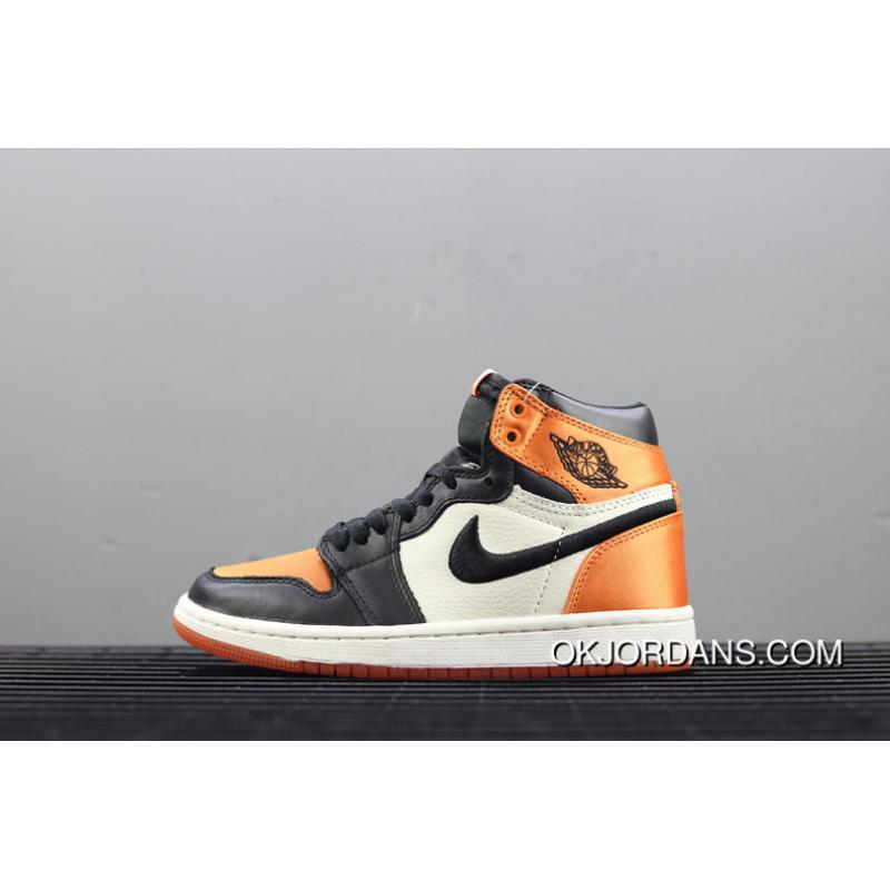 221641238fe Air Jordan 1 OG Satin Backboard Silk Buckle Broken Boards AV3725-010 ...