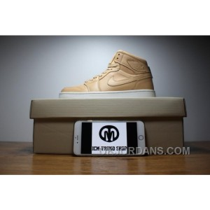 "Air Jordan 1 ""Gold Plated"" KHAKI Cheap To Buy 5ihmW"