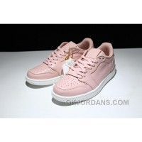 AIR Jordan 1 Air Retro Low Ns 848775-805 Pink White Lastest EXCHz8