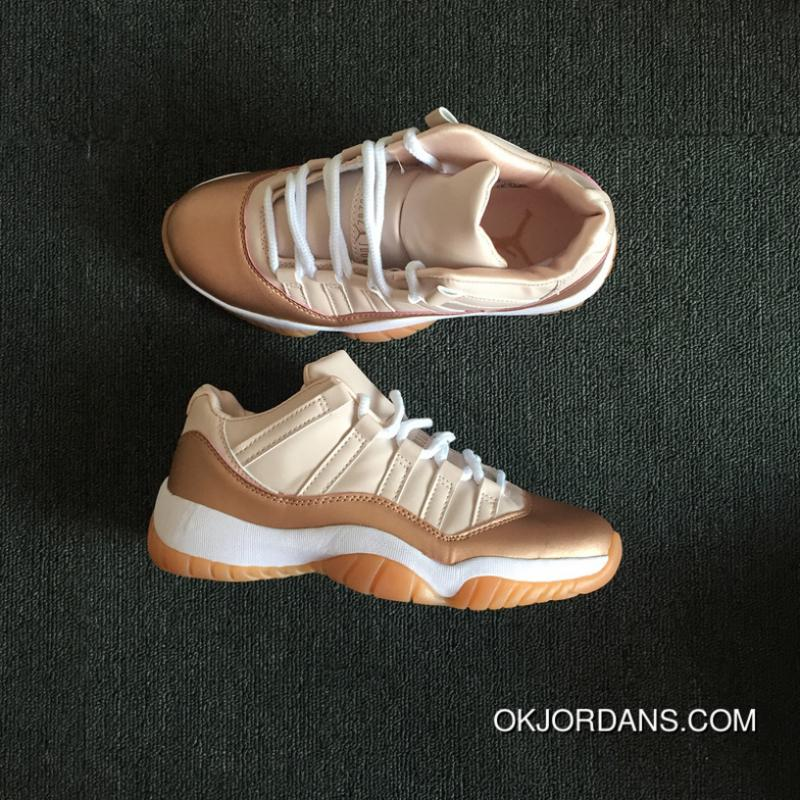 7515d91a77f ... coupon code for air jordan 11 low rose gold women new year deals 4c629  fed8e