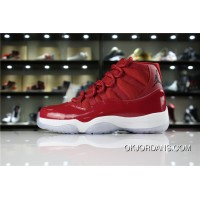 "Air Jordan 11 ""Win Like '96"" Gym Red/Black-White Best"