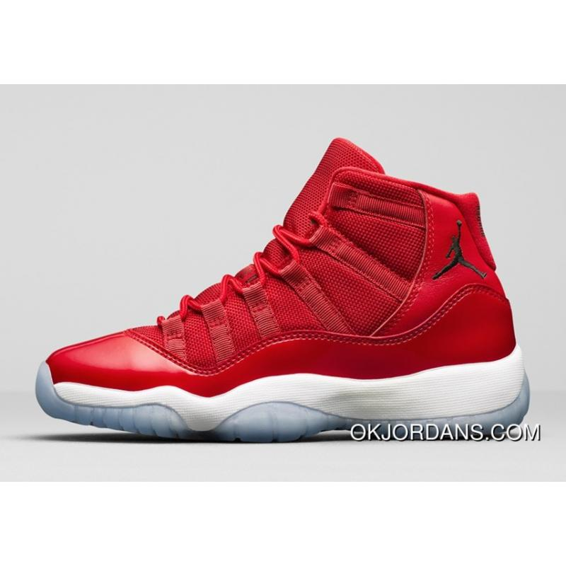 """the best attitude a51b3 3c32d Nike Air Jordan 11 Retro Low """"Red"""" PE Carmelo Anthony Red/White Authentic  New Release"""