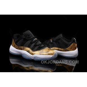 Air Jordan 11 Low Gold Snake 2Nmec