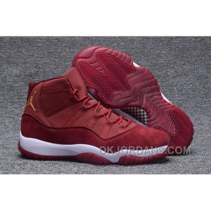 "AIR JORDAN 11 GS ""RED VELVET"" Discount TadHd"