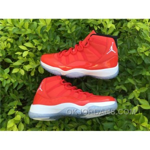 Air Jordan11 AJ 11 RED WHITE 41--47.5 Christmas Deals N76wQ