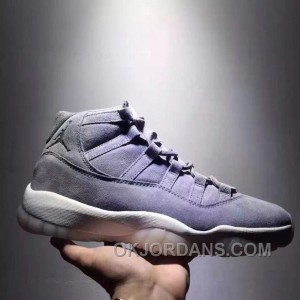 Air Jordan 11 Space Jam Grey Suede Limited Edition New Release BAznFW5