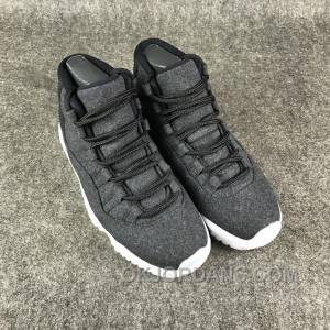 Air Jordan 11 Wool Dark Grey Free Shipping M4wRw7