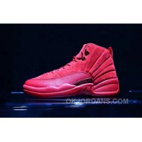 Air Jordan 12 Red Suede 41-47.5 Authentic Super Deals
