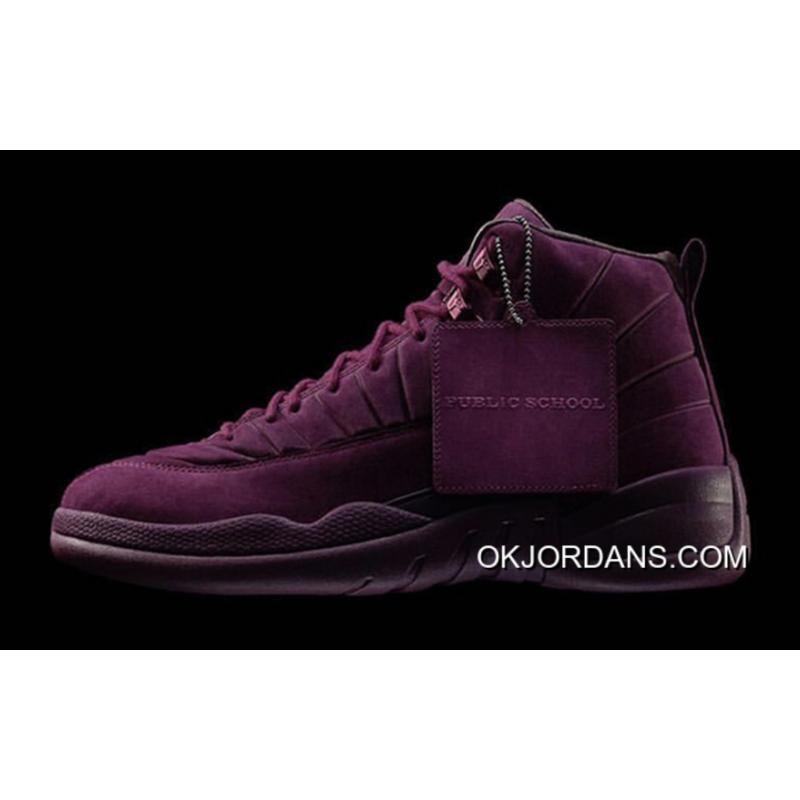 7fa31891011417 Air Jordan 12 PSNY Bordeaux – Release Discount