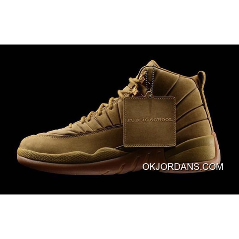 best service 0c4f2 349df Air Jordan 12 PSNY Wheat Release Authentic