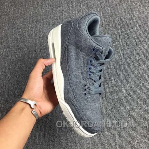 Air Jordan 3 Retro Wool Dark 854263-004 Cheap To Buy PahNZN