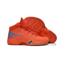 Air Jordan 30 XXX Playoffs Orange Blue PE 2016 Lastest 2wnyw