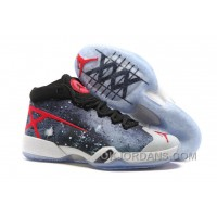 Air Jordan 30 XXX JBC Galaxy Black-Grey-Red 2016 Top Deals Pi7QS