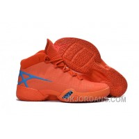 New Air Jordan 30 XXX Playoffs Orange Blue PE Online H6x7H