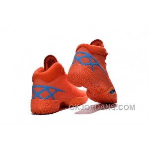 Air Jordan 30 XXX Playoffs Orange Blue PE 2016 For Sale MB62W