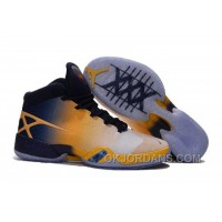 "Air Jordan 30 XXX ""Cal Golden Bears"" White-Navy/Yellow 2016 Cheap To Buy 2hsWz"