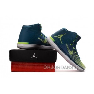 "2017 Air Jordan XXX1 Brazil ""Rio"" Green Abyss/Ghost Green-White Cheap To Buy KK7mEMZ"
