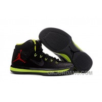 2017 Air Jordan XXX1 Black Green Red Basketball Shoes Authentic W27CSMK