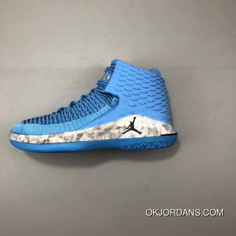 c2651654acbfab Air Jordan XXXII AJ32 UNC North Carolina Blue Also Shoes AA1253-401 ...