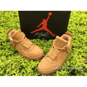 Men Basketball Shoe Air Jordan IV Wheat AAAAA 332 For Sale