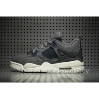 Air Jordan 4 Wool Dark Grey New Release AZPKn5
