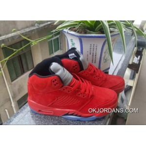 JORDAN 5 Bulls Red Blue 5 New Release DDXAr