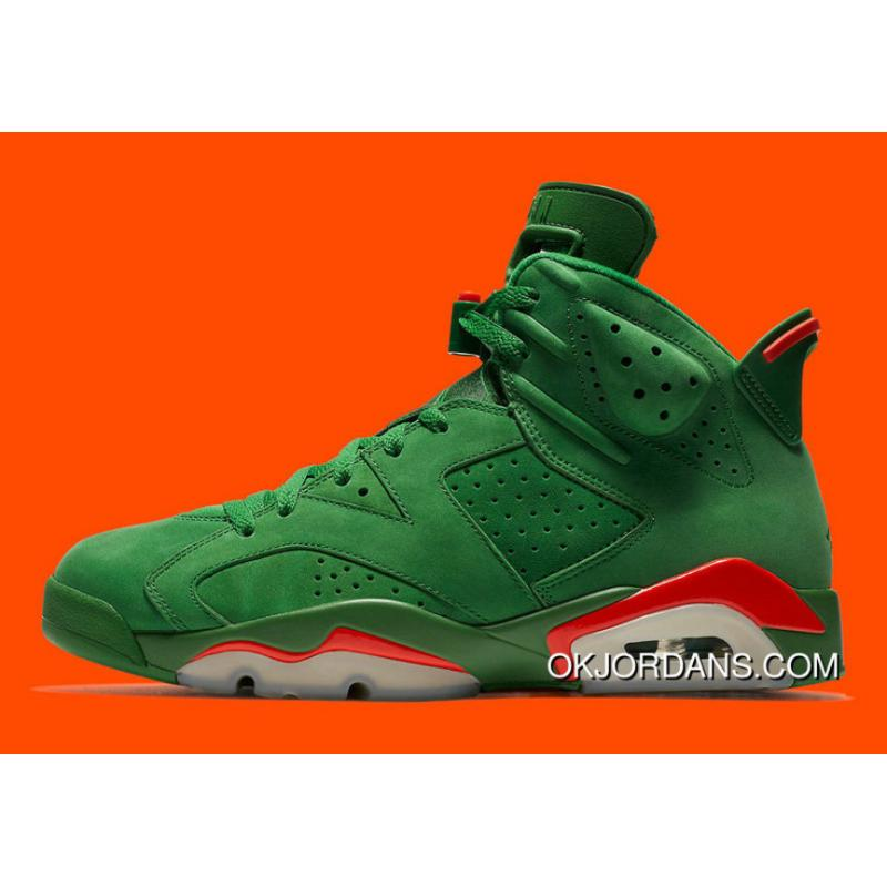 30c674bf0268 USD  90.86  227.15. Air Jordan 6 Nrg Gatorade Pine Green Orange Blaze  Aj5986 335 Basketball Shoes ...