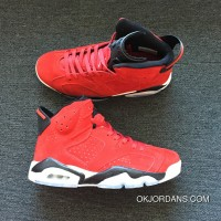 AIR JORDAN 6 Generation Red Suede Size Latest