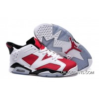 Air Jordan 6 Retro Low Carmine Discount