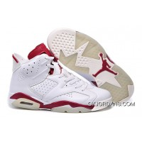 Best Air Jordan 6 Retro Maroon Off White 2015