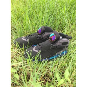 air jordan 8 aqua Black Purple 41-47