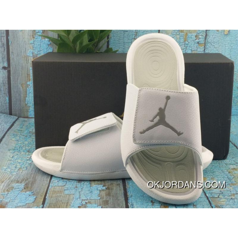 new product e34a2 0332f D07 Air Jordan Slides Aj6 Slides Air Jordan Hydro 6 Sandals Air Jordan 6  Slides Air Jordan Fingerprint Slides White Grey 36-45 Outlet