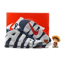 Nike Air More Uptempo OG Olympic Scottie Pippen Midnight Navy White Spirit Red 414962-401 Lastest ZeEmsk