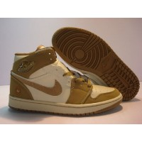 Air Jordan 1 The Tribute Armed Forces Pearl White Hay Walnut