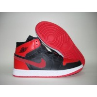 Air Jordan 1 High Strap Black Red